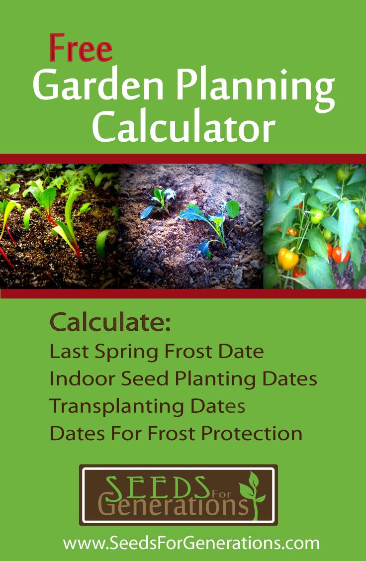 Garden Planning Calculator